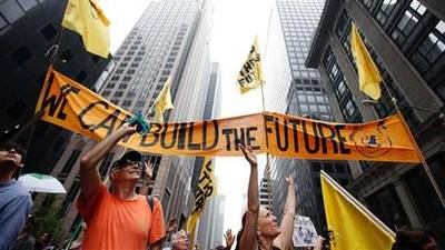 News video: Thousands Hit New York City Streets in Climate Change March